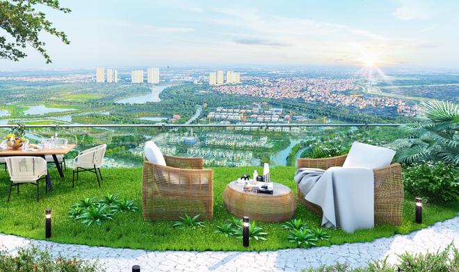 """Mãn nhãn với thiết kế """"nhà trong vườn, vườn trong mây"""" của tháp xanh SolForest Ecopark - 10"""