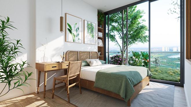 """Mãn nhãn với thiết kế """"nhà trong vườn, vườn trong mây"""" của tháp xanh SolForest Ecopark - 11"""
