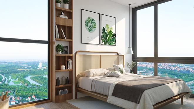 """Mãn nhãn với thiết kế """"nhà trong vườn, vườn trong mây"""" của tháp xanh SolForest Ecopark - 12"""