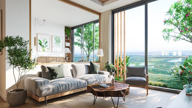 """Mãn nhãn với thiết kế """"nhà trong vườn, vườn trong mây"""" của tháp xanh SolForest Ecopark - 13"""