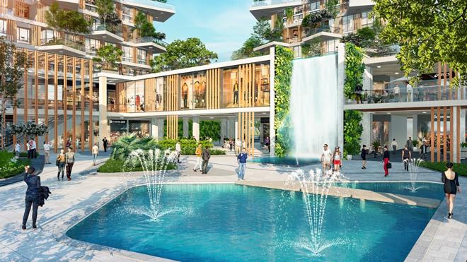 """Mãn nhãn với thiết kế """"nhà trong vườn, vườn trong mây"""" của tháp xanh SolForest Ecopark - 4"""