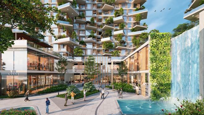 """Mãn nhãn với thiết kế """"nhà trong vườn, vườn trong mây"""" của tháp xanh SolForest Ecopark - 5"""