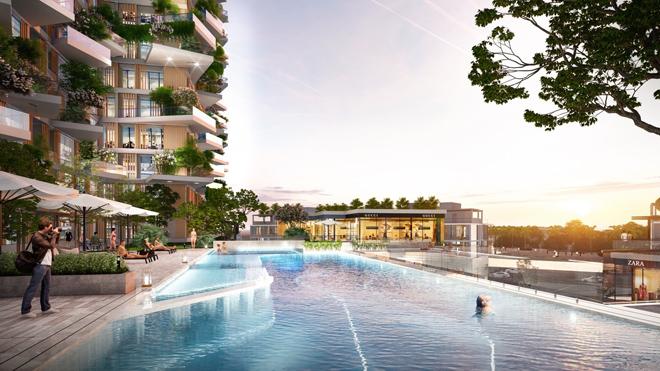 """Mãn nhãn với thiết kế """"nhà trong vườn, vườn trong mây"""" của tháp xanh SolForest Ecopark - 7"""