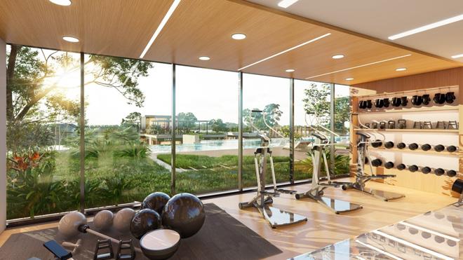 """Mãn nhãn với thiết kế """"nhà trong vườn, vườn trong mây"""" của tháp xanh SolForest Ecopark - 9"""