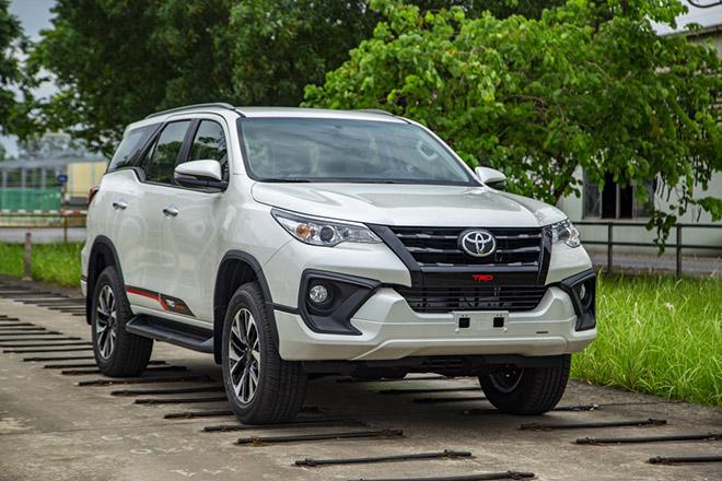 Bảng giá xe Toyota Fortuner lăn bánh tháng 11/2020 - 4