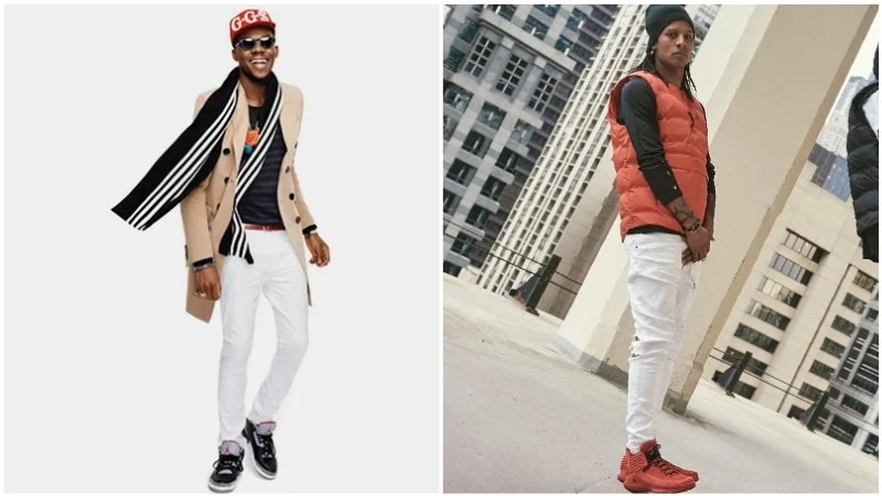 Bí quyết phối quần jean với đôi giày sneaker Jordan huyền thoại - hình ảnh 1