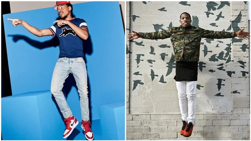 Bí quyết phối quần jean với đôi giày sneaker Jordan huyền thoại - hình ảnh 2