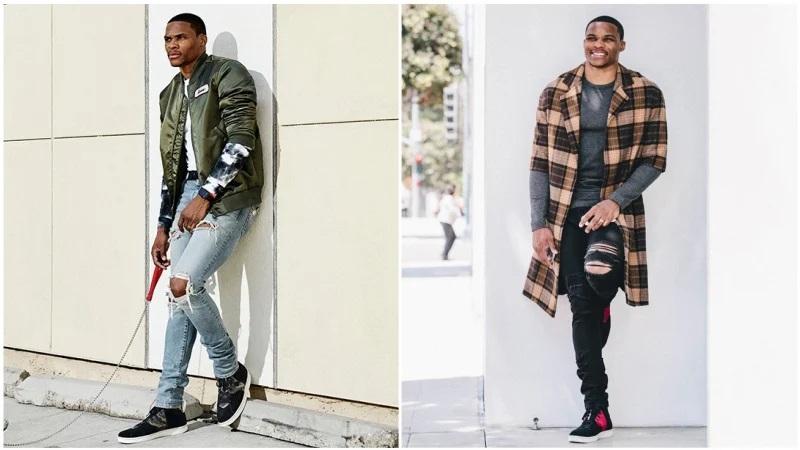 Bí quyết phối quần jean với đôi giày sneaker Jordan huyền thoại - hình ảnh 4