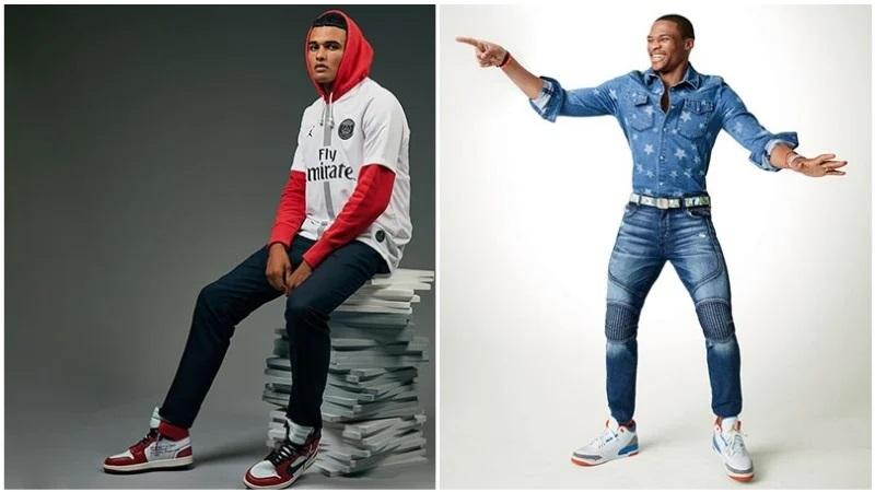 Bí quyết phối quần jean với đôi giày sneaker Jordan huyền thoại - hình ảnh 5