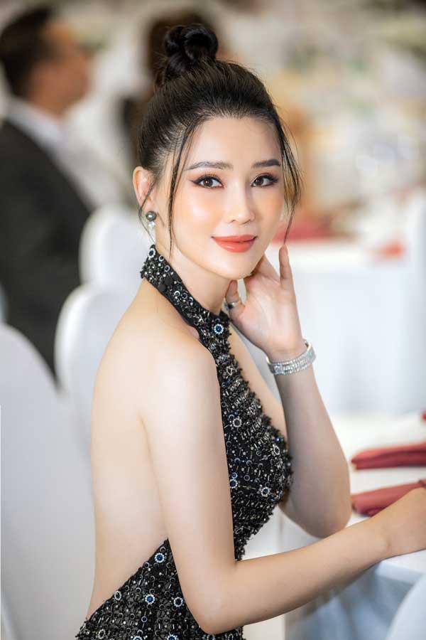 Á hậu Thái Như Ngọc xinh đẹp, tươi trẻ trong đêm thi bikini của Hoa hậu Việt Nam - hình ảnh 7