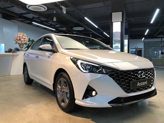 Hyundai Accent facelift 2021 có mặt tại Việt Nam, chờ ngày ra mắt chính thức