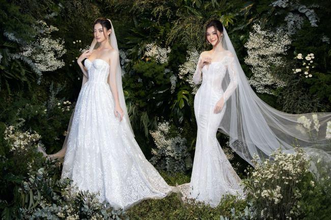 Lương Thuỳ Linh – Kiều Loan kiêu sa trong váy cưới - hình ảnh 6