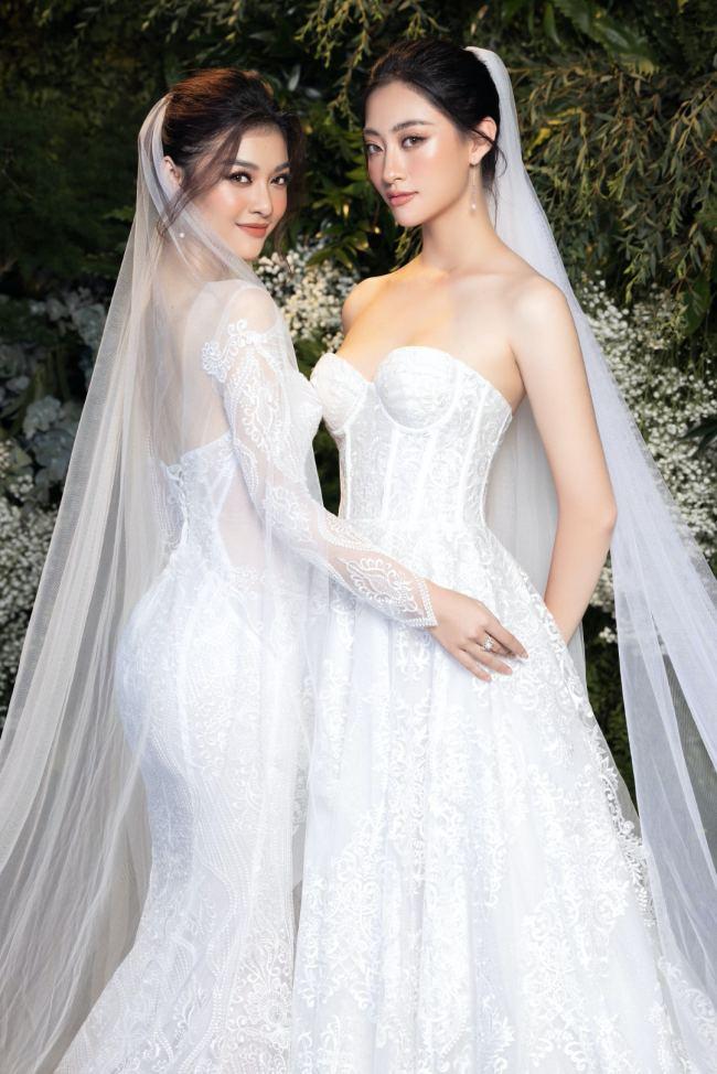 Lương Thuỳ Linh – Kiều Loan kiêu sa trong váy cưới - hình ảnh 8