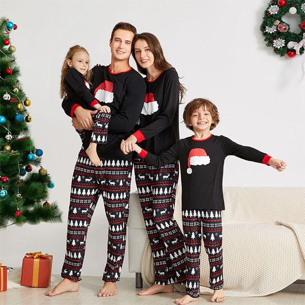 7 gợi ý pyjama Giáng sinh xinh xắn, ấm cúng cho cả gia đình - hình ảnh 4