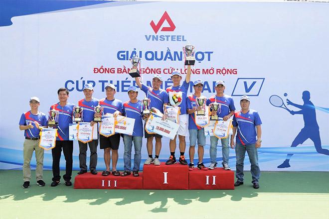 Giải quần vợt Đồng bằng sông Cửu Long mở rộng Cúp Thép Miền Nam /V/ lần thứ 5 tổ chức thành công - 2