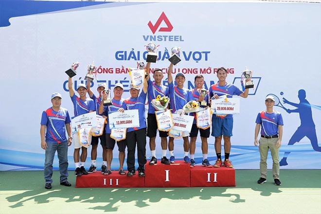 Giải quần vợt Đồng bằng sông Cửu Long mở rộng Cúp Thép Miền Nam /V/ lần thứ 5 tổ chức thành công - 3