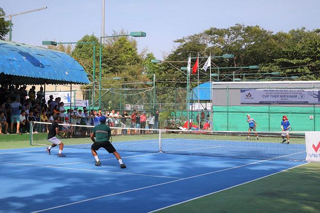 Giải quần vợt Đồng bằng sông Cửu Long mở rộng Cúp Thép Miền Nam /V/ lần thứ 5 tổ chức thành công - 4