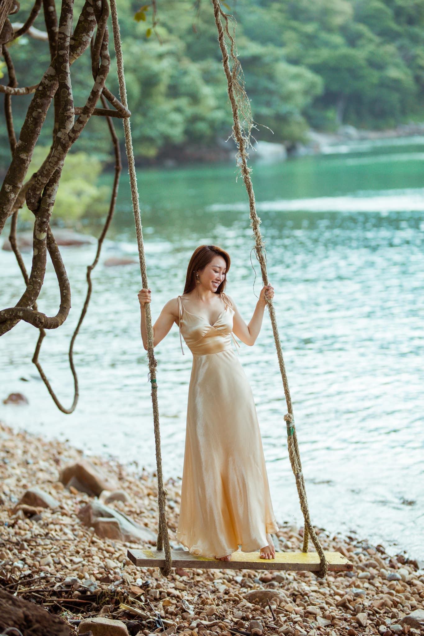 Bạn gái CEO kém 16 tuổi của Chi Bảo đẹp gợi cảm, tâm đầu ý hợp - hình ảnh 8