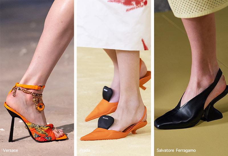 Xu hướng giày Xuân/Hè 2021: độc đáo với giày đế gấp, sneaker lai - 8