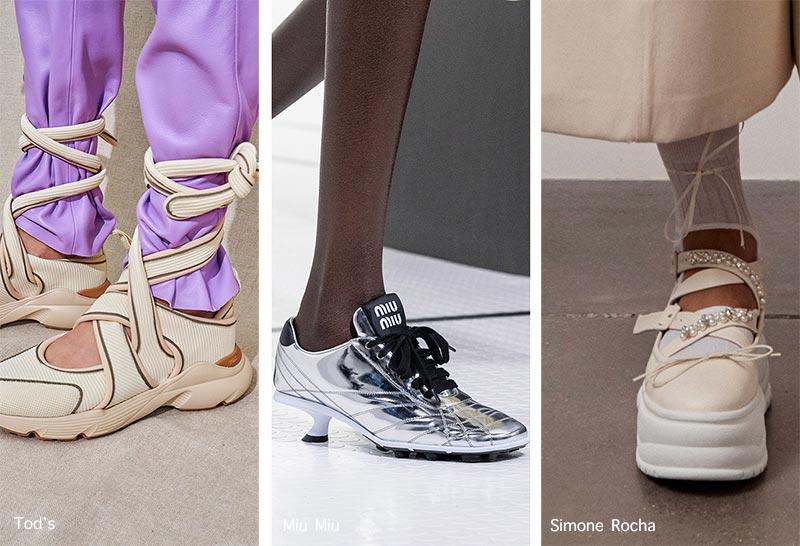 Xu hướng giày Xuân/Hè 2021: độc đáo với giày đế gấp, sneaker lai - 6