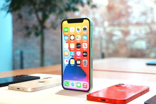 công nghệ 5G trên iPhone 12