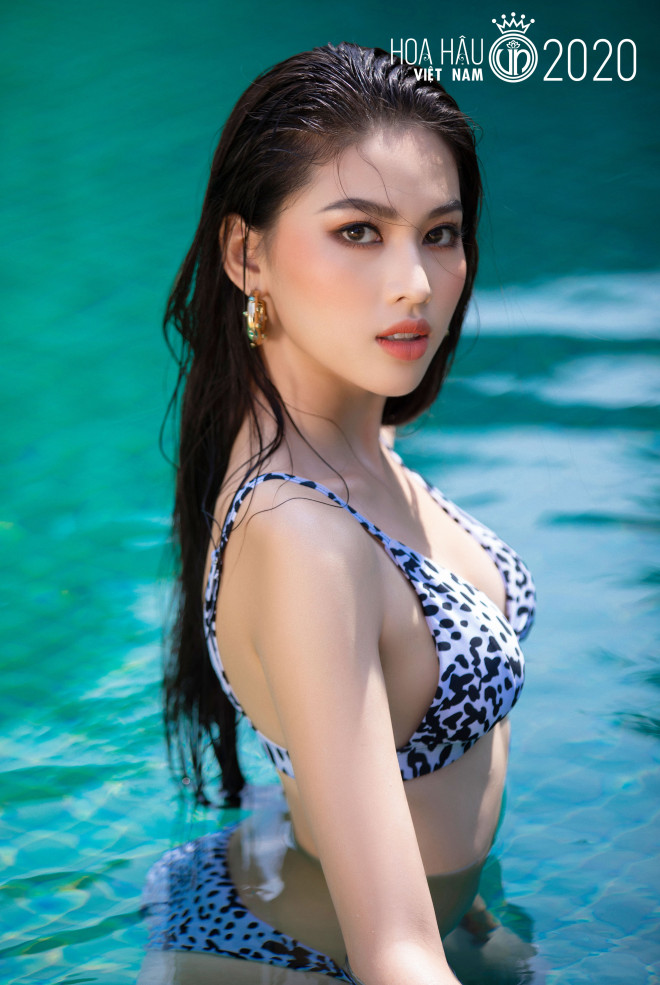 5 cô gái mặc bikini đẹp nhất Hoa hậu Việt Nam 2020 trình diễn áo tắm