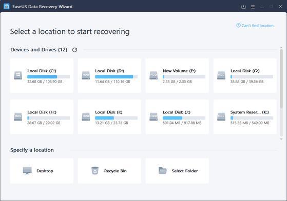 2 phần mềm khôi phục dữ liệu tốt nhất trên máy tính và thẻ nhớ - 1
