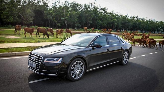Audi triệu hồi loạt xe A8L tại Việt Nam vì lỗi gioăng cao su