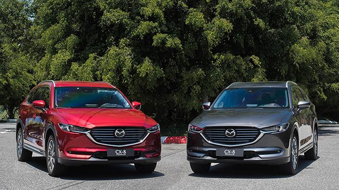Giá xe Mazda CX-8 lăn bánh tháng 11/2020, tặng phụ kiện 35 triệu đồng - 1