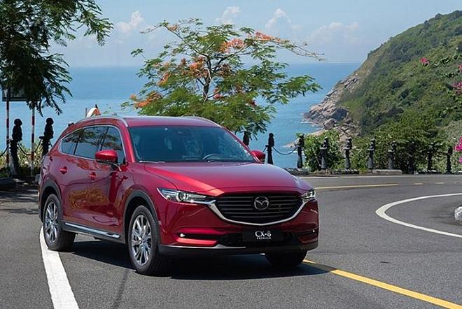 Giá xe Mazda CX-8 lăn bánh tháng 11/2020, tặng phụ kiện 35 triệu đồng - 4