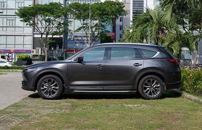 Giá xe Mazda CX-8 lăn bánh tháng 11/2020, tặng phụ kiện 35 triệu đồng - 7