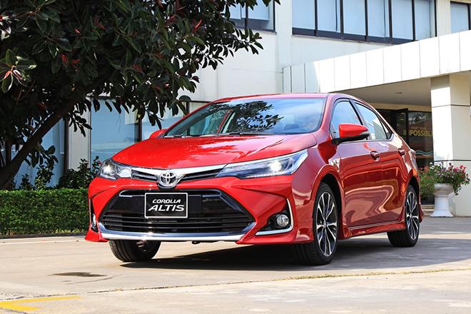 Bảng giá xe Toyota Corolla Altis lăn bánh tháng 11/2020 - 1