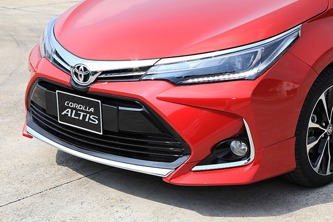 Bảng giá xe Toyota Corolla Altis lăn bánh tháng 11/2020 - 3