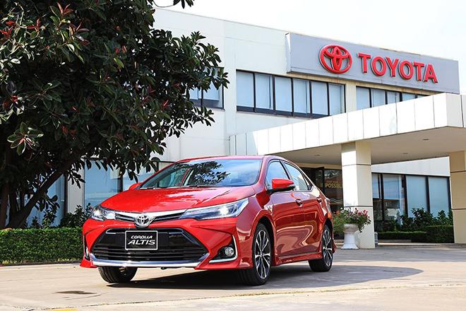 Bảng giá xe Toyota Corolla Altis lăn bánh tháng 11/2020 - 12