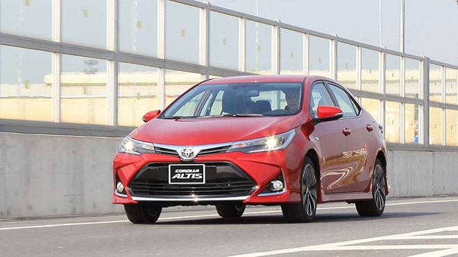 Bảng giá xe Toyota Corolla Altis lăn bánh tháng 11/2020 - 2