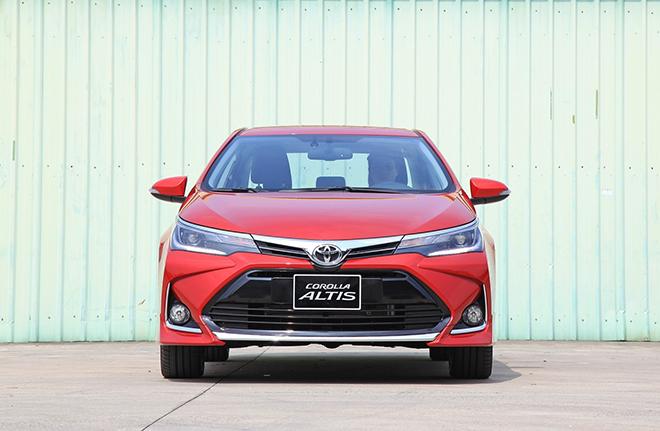 Bảng giá xe Toyota Corolla Altis lăn bánh tháng 11/2020 - 4