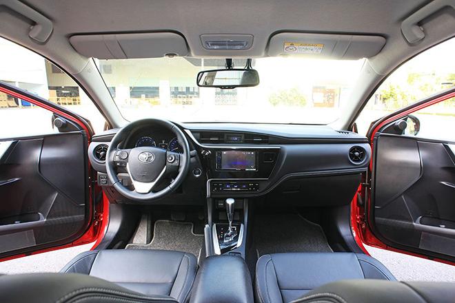 Bảng giá xe Toyota Corolla Altis lăn bánh tháng 11/2020 - 9