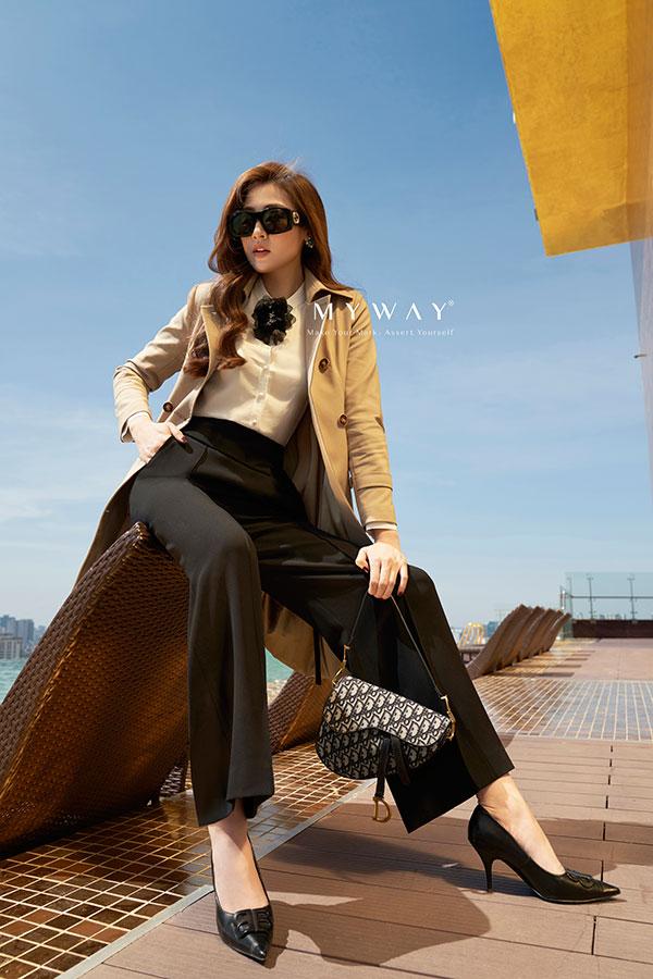 Á hậu Tú Anh khen BST thời trang mới nhất của hãng My Way - 3