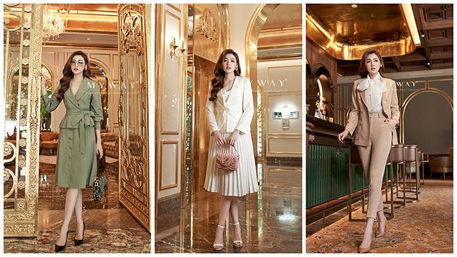 Á hậu Tú Anh khen BST thời trang mới nhất của hãng My Way - 2