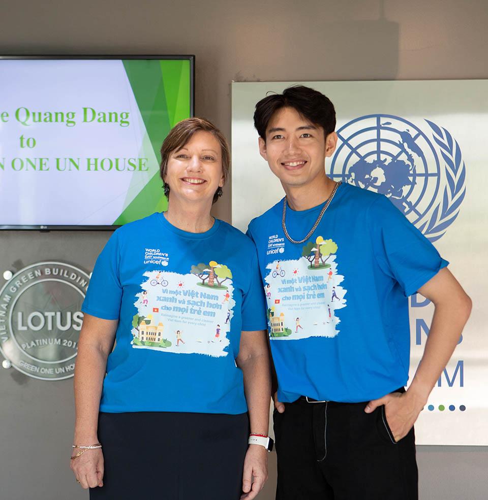Nghệ sĩ Việt vừa được UNICEF chọn hợp tác là ai? - hình ảnh 2
