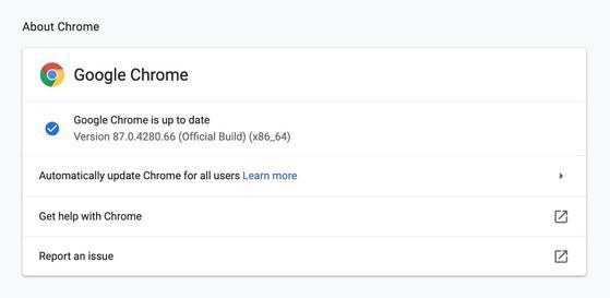 Người dùng nên cập nhật trình duyệt Chrome 87 ngay lập tức - 2