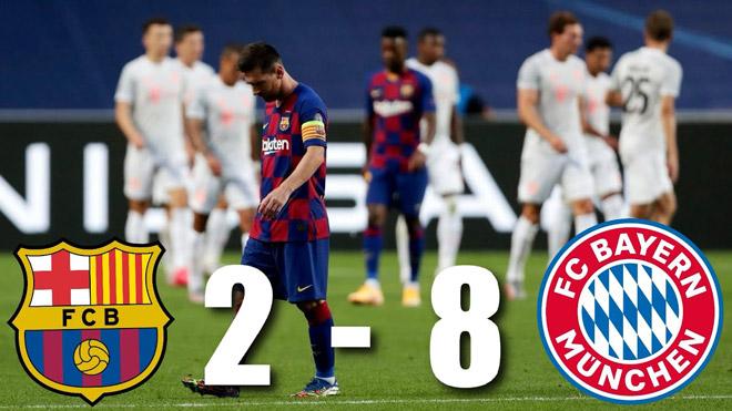 Những trận cầu sốc nhất năm 2020: MU thua 1-6, Barca đại bại 2-8 - 1