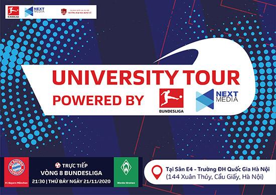 Lần đầu tiên không khí giải Bundesliga làm nóng giảng đường Đại học ở Việt Nam - 2
