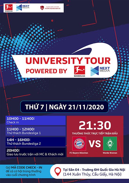 Lần đầu tiên không khí giải Bundesliga làm nóng giảng đường Đại học ở Việt Nam - 1
