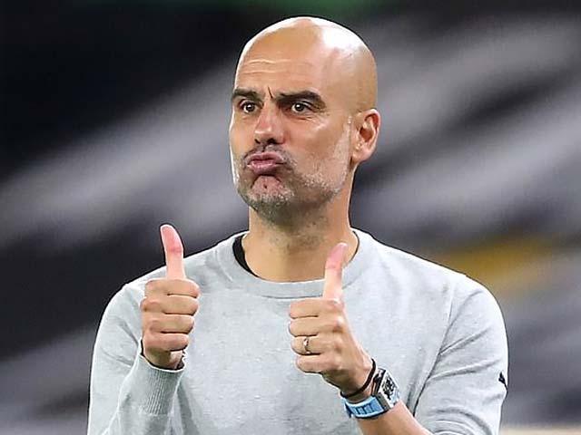 NÓNG: Guardiola gia hạn 2 năm với Man City ngay trước đại chiến với Mourinho - 1