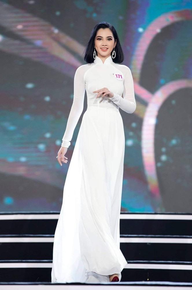Ngây ngất nhan sắc của người đẹp tóc ngắn nhất Hoa hậu Việt Nam 2020 - hình ảnh 5