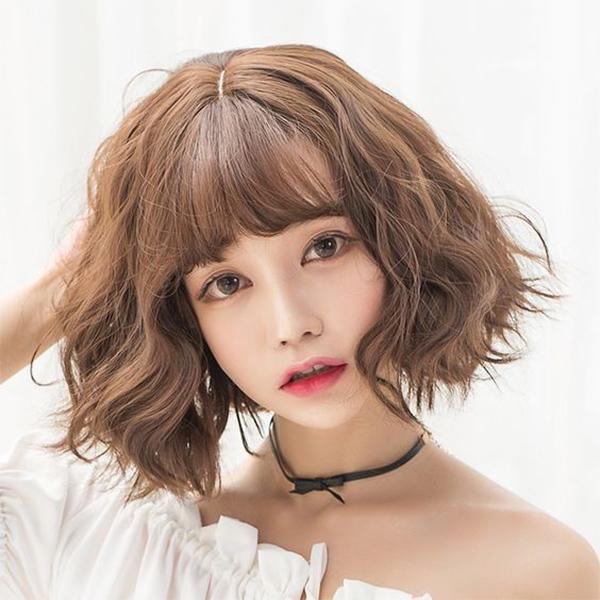 25 kiểu tóc ngắn uốn đẹp phù hợp với mọi gương mặt hot nhất hiện nay - 13