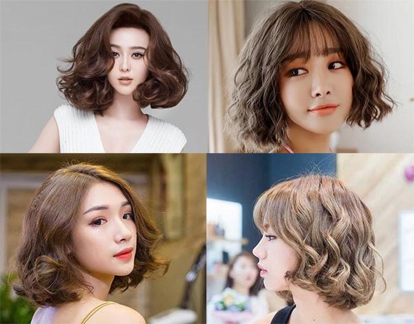25 kiểu tóc ngắn uốn đẹp phù hợp với mọi gương mặt hot nhất hiện nay - 2