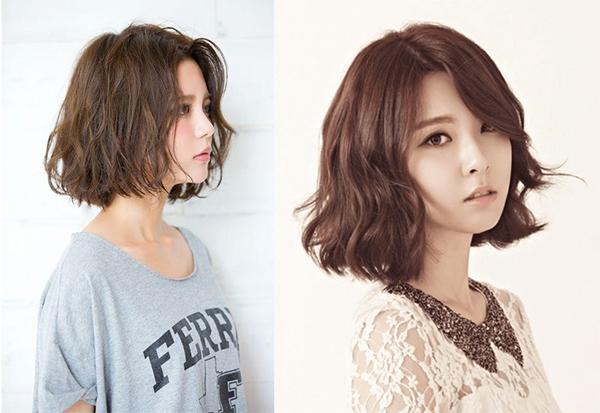25 kiểu tóc ngắn uốn đẹp phù hợp với mọi gương mặt hot nhất hiện nay - 9