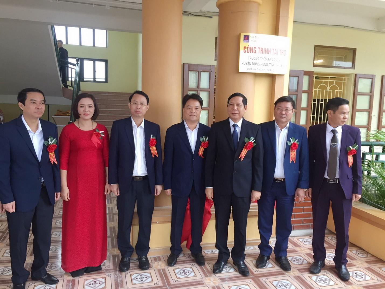 PV GAS tài trợ xây dựng Trường THCS Đông Á, Thái Bình - 3